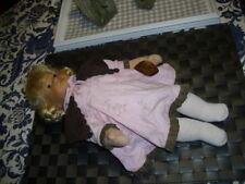 Ovp & Zertifikat 140 / 300 Meissen / Käthe Kruse Puppe Anna 20 Cm Top Zustand