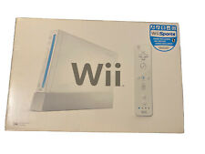 Nintendo Wii Sports White Console Box Only With Trays