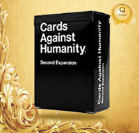 NEW Cards Against Humanity: Second Expansion UK Edition FREE & FAST DELIVERY!!