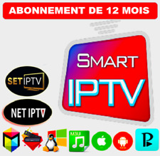 SMART IP*TV 12 MOIS ABONNEMENT, Toutes Les Applications, Chaines, VOD, Series HD