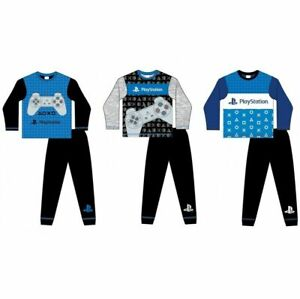 Boys Official PlayStation PS5 Long Pyjamas Gamer Pjs  Age 5-12 Years. NEW
