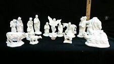Ceramic 19 piece V.I.P. nativity set