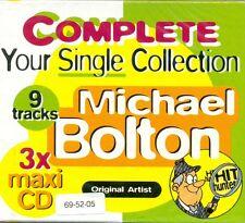MICHAEL BOLTON - Complete your single collection 9TR 3x CDM POP / RARE!