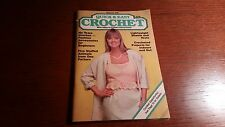 Quick & Easy Crochet May June 1988 vintage patterns crafts stuffed animals