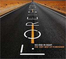 No End In Sight: The Very Best Of Foreigner - Foreigner - CD New Sealed