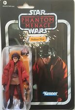 """Star Wars Action Figure of NABOO PILOT ( VC 72 ) on Vintage Card 3.75"""" Tall"""