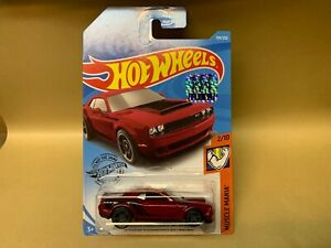 Hot Wheels *Factory Sealed * '18 Dodge Challenger SRT Demon Muscle Mania 2/10