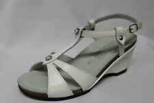 Sandals Mephisto Nicasia Paint Black Wedge 7 CM List Price - 30%
