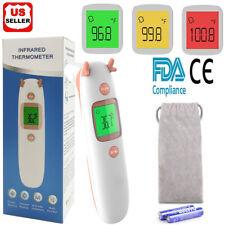 Lcd Digital Ir Infrared Thermometer Non Contact Temperature Gun Ear Forehead Fda