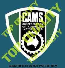 VINTAGE CAMS Decal Sticker Australiana Mancave Motorsport Rat Hot Rod Stickers