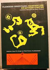 ROMANTISME/CLEMENS BRENTANO/FANFERLISE/ED L AGE D OR/1971/HENRI PARISOT