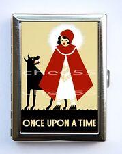 WPA Little Red Riding Hood Poster Cigarette Case Wallet Business Card Holder