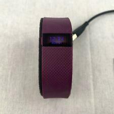 Fitbit Smart Wrist Band Charge HR Plum Activity Tracker Heart Rate Slim FB405PMS