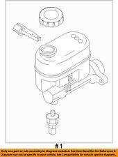 FORD OEM 2008 E-350 Super Duty-Brake Master Cylinder 8C2Z2140B