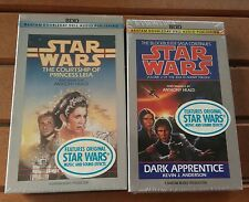 Star Wars The Courtship of Princess Leia & Vol 2 Jedi Academy Cassette Tapes New