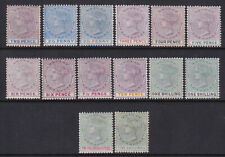 Lagos. 1887-1902. SG 30-40 + shades. 2d to 5/-. Mounted mint.