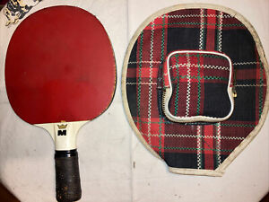 Raquette Ping Pong Ancienne Marque MONTANA