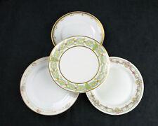 Mismatched Vintage China Salad Plates 4 Pc Set, Home Dining & Wedding Decor SP21