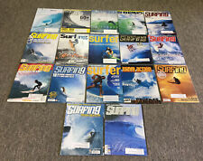 collection/lot of 17 SURFING MAGAZINES ~ 1999-2013