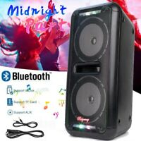 Rechargeable Portable Bluetooth Party Speaker FM Heavy Bass Sound Tailgate 🔥🔥