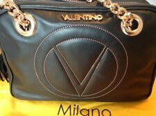 New With Tags Authentic Valentino Black And Rose Gold Handbag
