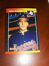 BRAVES 1989 DONRUSS 25 CARD TEAM SET, SMOLTZ, GLAVINE, SUTTER, MURPHY, GANT +