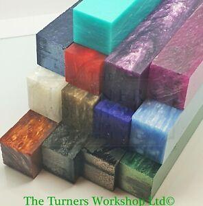 Woodturning & Pen Making - Kirinite Ice Series Pen Blanks