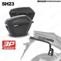 SATZ SHAD TRÄGER + KOFFER 3P SYSTEM SH23 SUZUKI V-STROM DL 650 '04-11