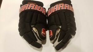 Chris Pronger game worn used gloves Anaheim Ducks Warrior