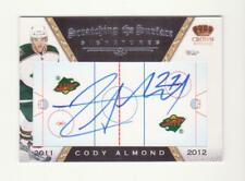 2011-12 Crown Royale Cody Almond Scratching The Surface Autograph # 22 (11-12)