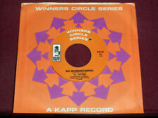 "THE CRITTERS ""Bad Misunderstanding"" Kapp Winners Circle KJB-80"