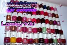 LOTTO STOCK 100 SMALTI SMALTINI TES TER MINI SMALTO PER UNGHIE NAIL ART POLISH