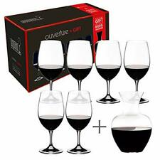 Riedel Ouverture Wine Glass and Decanter Set, (7 Piece Set|Decanter & Glasses)
