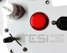 Tesi DITO Snap-in 24MM Guitar Arcade Button Kill Switch Translucent Red