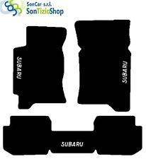TAPIS SUBARU IMPREZA 1992-01, décoration : Subaru blanc + 4 Bloc Universel