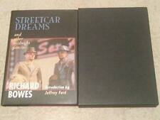 Richard Bowes SIGNED Streetcar Dreams UKHC 1st Edn deluxe slipcase /200