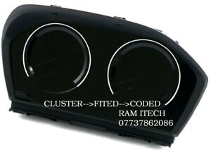 BMW 1 & 2 SERIES,X1,X2 CLUSTER 6WB 6WA BLACK EDITION CLUSTER+FITED+CODED