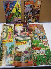 Treasure Chest Of Fun & Fact 1950's & one 1960 Comics Lot   T*