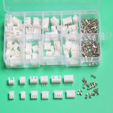 60Pcs 2.54mm JST XH 2 3 4Pin Male and Female Housing Connector with Crimp POP#