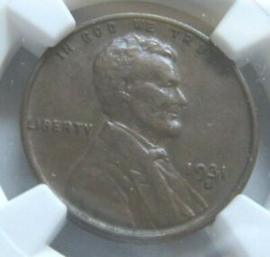 1931-S Lincoln Cent, Graded XF40 by NGC, Semi Key
