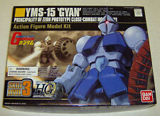 "Yms-15 ""Gyan"" Combat Mobile Suit Model Kit Factory Sealed Inside Bandai 1999"