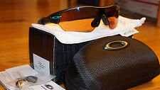 New Authentic Oakley Radar Edge Anodized Grey/G30 Iridium OO9184-13