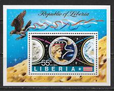 LIBERIA , 1973 , APOLLO 17 , SPACE , SOUVENIR SHEET , PERF , MNH , CV$2.50