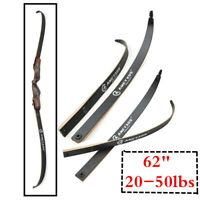 "62"" 25-50lbs bow Limbs Takedown Longbow Recurve Bow limbs Archery Hunting Sports"