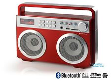 AUDIOSONIC SOUND BLASTER 2X15 W BLUETOOTH USB SLOT SD spedizioni veloci