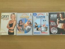 Yoga and Core Dvds
