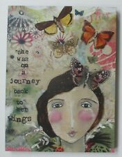 zzQ On a journey back to her wings Kelly Rae Roberts canvas art print 12 x 16