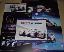 Le Mans 2012 2013 2015 WEC Toyota Hybrid Racing Gazoo TS030 TS040 #1 #2 Card Set