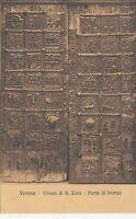 BF18974 chiesa di s zeno porta du bronzo verona sculpture  art  front/back image