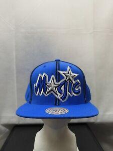 Orlando Magic Mitchell & Ness Blue Snapback Hat Hardwood Classic